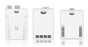 AO Smith line of tankless water heaters