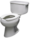 Everyday toilet installed by our Roseville plumbing team