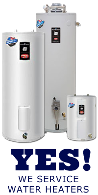 We cover all Roseville water heater repair services
